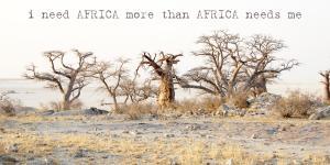 Kubu Island Makgadigadi Pans Botswana